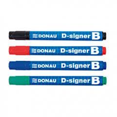 Маркер для сухостираемых досок Donau D-signer B
