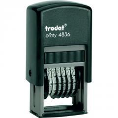 Мининумератор Trodat 3,8 мм пласт. 6-разрядный