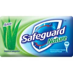 Toilet soap SAFEGUARD 90 of of the Aloe