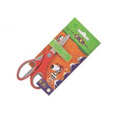 Ножницы детские Zibi 126мм, ручки с резиновыми вставками