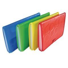 Папка на резинке Panta Plast Omega, A4, 6 отделений