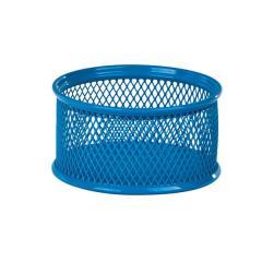 Подставка для скрепок Zibi, металлическая, синяя