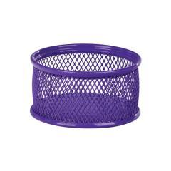 Подставка для скрепок Zibi, металлическая, фиолетовая
