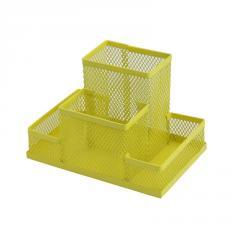 Прибор настольный, металлический, желтый Zibi