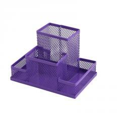 Прибор настольный, металлический, фиолетовый Zibi
