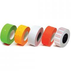 The price tag rectangular color (In) allsorts, 22*12 (500 pieces - 6 m)