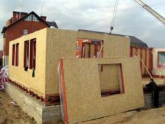 Плиты строительные,СИП панели