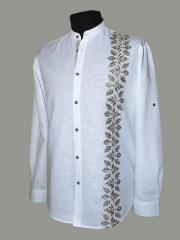 Shirts man's with an embroidery from the