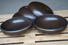 Plugs seamless welded elliptical GOST17379, EN 10253-1: 2007, ANSI B16.9