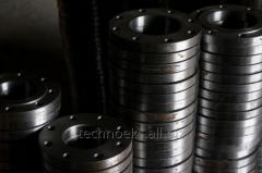 The flange is welded flat steel GOST12820