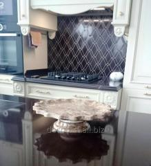Kitchen table-tops, table-tops from marble,