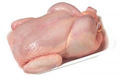 Тушка курицы и разделка (филе, крыло, бедро,