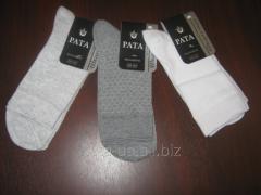 Socks man's summer (grid) article 401