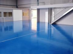 Polymeric bulk floors