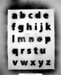 Текстовые трафареты. Шрифтовые трафареты.
