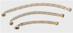 Шланг d17 M1/2 XCF1 оплетений нерж.довж. 30см