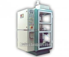 The automatic machine for production of plastic