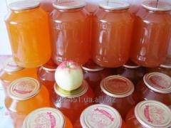 Сок яблочный натуральный неосветленый