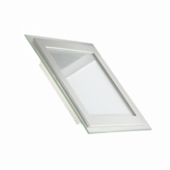Светодиодный светильник LEDEX 6,12,25W PREMIUM квадрат+стекло