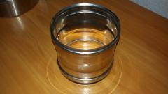 Переход из нержавеющей стали: 1 мм, диаметр (ф130)