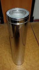 Труба из нержавеющей стали с теплоизоляцией в