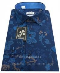Shirt man's with a print No. S 81.1
