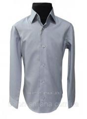 Рубашка детская серая №12 - 46