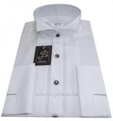 Рубашка мужская №10/14 классического кроя белая