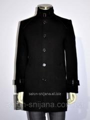 Short coat men's winter No. 602/4 cashmere black
