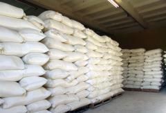 Salt technical, for topping of roads, in bulk and