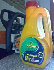 Ariane MGT, RZH. Oils hydraulic Ariane