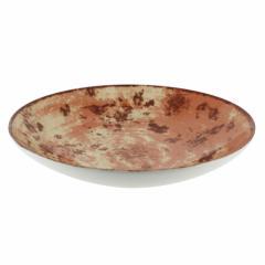 Тарелка глубокая терракотовая,  26 см, ...