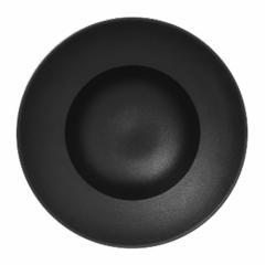 Тарелка глубокая черная,  23 см,  Neofusion