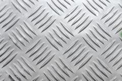 Corrugated aluminum shee