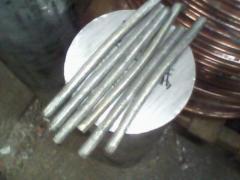 Aluminium rounds D16 F8-100 mm