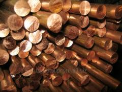 Circle copper f 32 mm of M1 of Sq.m of GOST