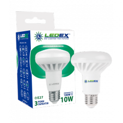 Светодиодная лампа LEDEX 10W E27 R80 PREMIUM...