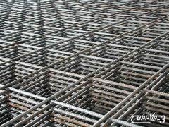 Reinforced mesh 100h100h3