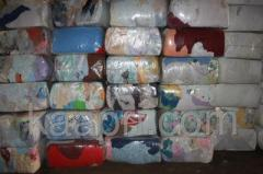 Hadry, bavlna, bílé, barevné, p 10 kg
