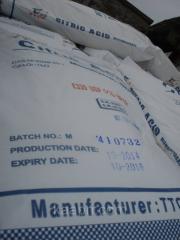 Acid lemon. Regulator of acidity E330
