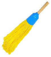 Broom polypropylene round with shank