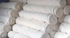 Нетканка, полотно нетканое холстопрошивное х\б 1,5м для обтирки, мытья полов