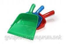 Совок пластмассовый с короткой ручкой, с динной ручкой № 2