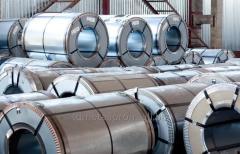 Roll of galvanized 1,0х1250 mm, Zn 100-140g\m2