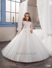 Подвенечное детское платье 1500