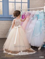 Подвенечное детское платье 1505