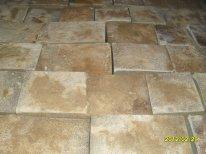 Paving slabs from sandstone