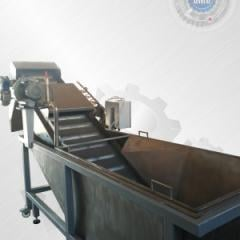 Washing and sorting equipment for vegetables,