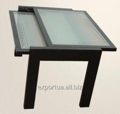 Sliding coffee table 81*55*55sm (SZh 13)