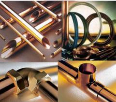 Copper pipe and fitting